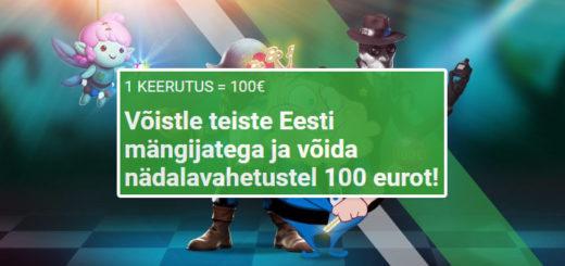 Unibet kasiinos nädalavahetusel eksklusiivne Eesti mängijate slotiturniir