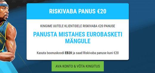 Coolbet Eurobasket 2017 riskivaba ennustus