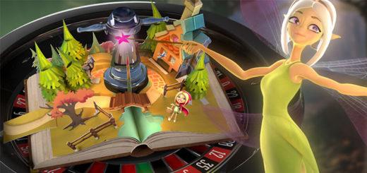 Coolbet live kasiino Fairytale rulett - võida kodukino, helisüsteem või sularaha