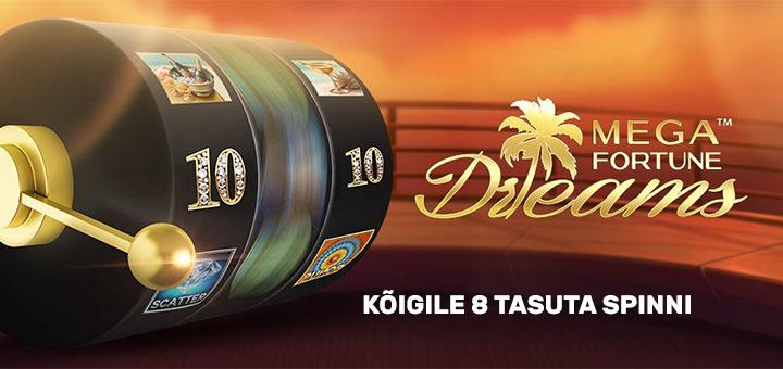 Unibet kasiinos võideti 7,7 miljoni eurone jackpot - kingituseks kõigile tasuta spinnid