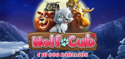 Wolf Cub €10 000 rahaloos Paf kasiinos