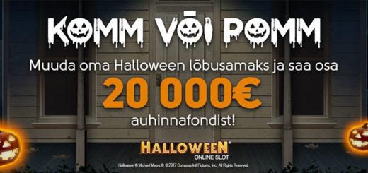 OlyBet Halloween 2017 kampaania
