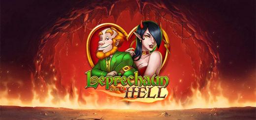 Paf kasiino Leprechaun Goes to Hell tasuta spinnid ja €5000 rahaloos