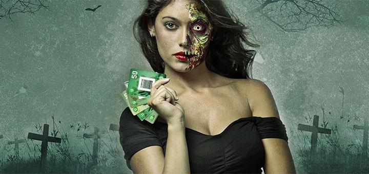 Unibet live kasiino Halloween 2017 Blackjack kaardid