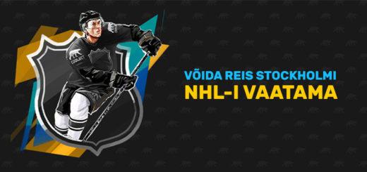 Võida reis Stockholmi NHL-i vaatama