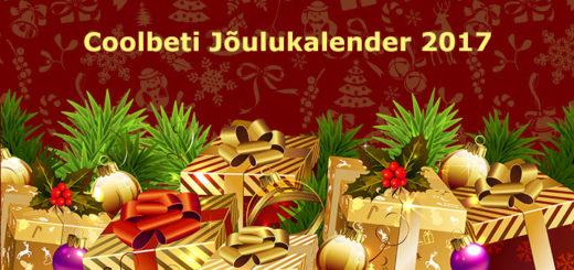 Coolbeti jõulukalender 2017 - tasuta spinnid, tasuta panused, boonused jpm