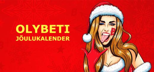 OlyBeti jõulukalender 2017 - tasuta spinnid iga päev