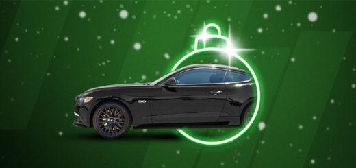 Unibet kasiinos loositakse välja sportauto Ford Mustang