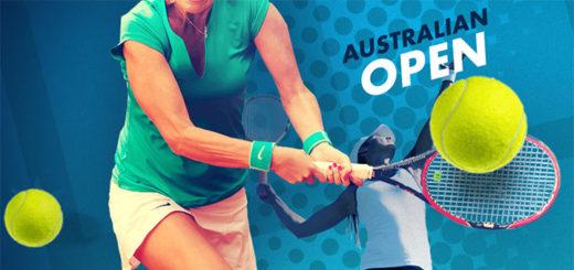 Eesti tennisistid Kaia Kanepi ja Anett Kontaveit Australian Open 2018 tenniseturniiril
