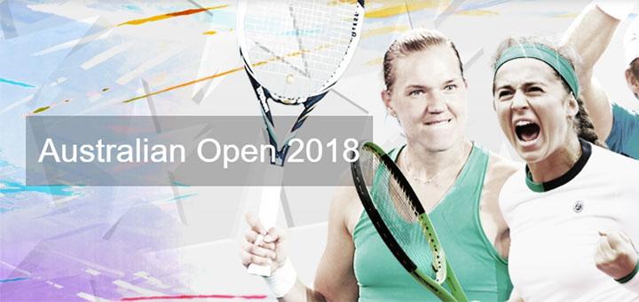 OlyBet Australian Open 2018 panused ja pärisraha kingitused