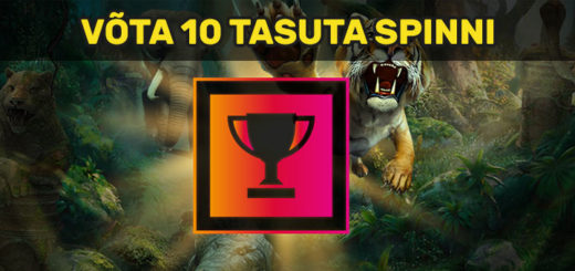 Tasuta spinnid mängus Jungle Spirit