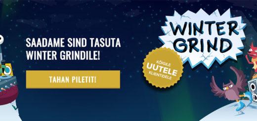 Winter Grind 2018 tasuta piletid Optibet kasiinos