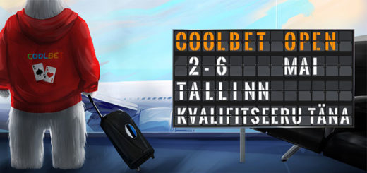 Coolbet Open live pokkeriturniir - kvalifitseerumine ja info