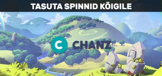Chanz Casino ja tasuta kasiino eripakkumine - tasuta spinnid kõigile