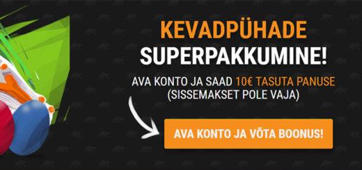 Kevadpühade superpakkumine Coolbet spordiennustuses - €10 täiesti tasuta panus