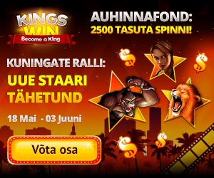 Kingswin kasiino kuningate ralli