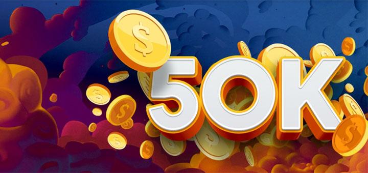 OlyBet live kasiino €50 000 rahaloos