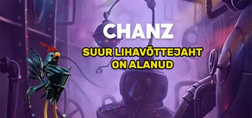 Suur Lihavõttejaht Chanz kasiinos - tasuta spinnid ja €2000 rahaloos