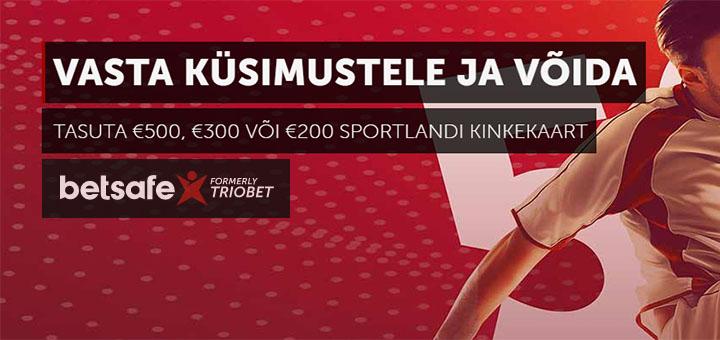 Betsafe Jalgpalli MM 2018 tasuta ennustusmäng