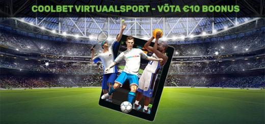 Coolbet Virtuaalsport - €10 boonusraha