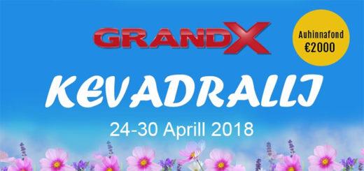 GrandX kasiino kevaralli 2018