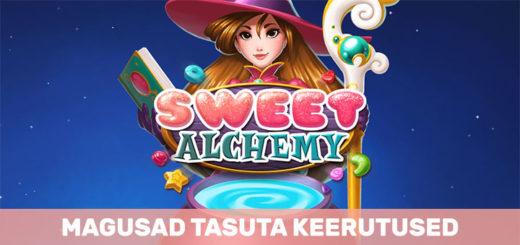 Magusad Sweet Alchemy tasuta keerutused Paf kasiinos