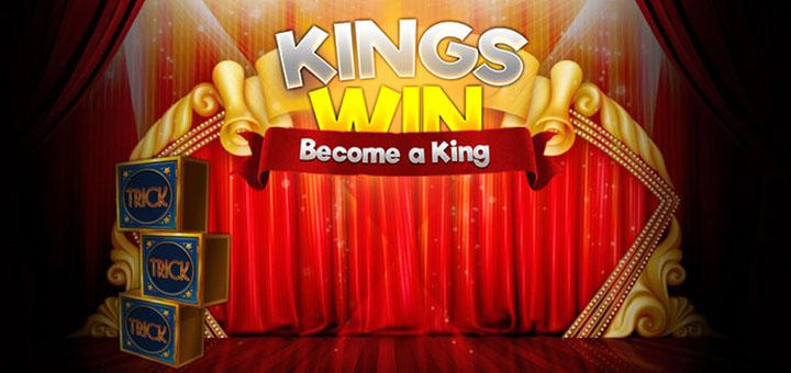 Nädalavahetuse boonus ja tasuta spinnid Kingswin kasiinos