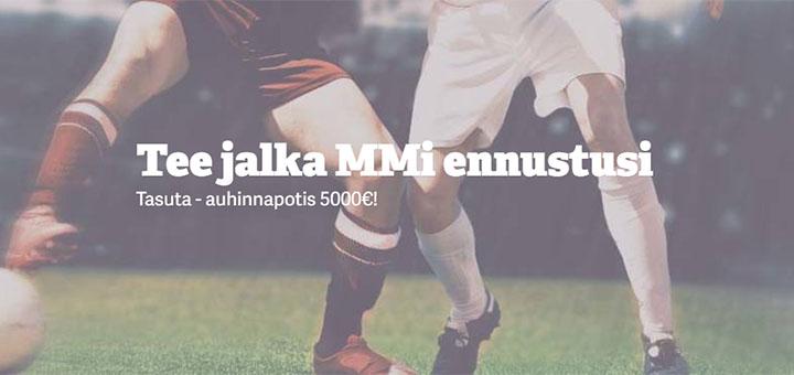 Jalgpalli MM €5000 auhinnafondiga Fantasy Sports ennustusvõistlus mänguportaalis Paf