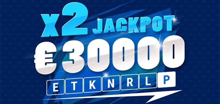 Coolbet Duubeldamismängu jackpot Jalgpalli MM puhul on €30 000