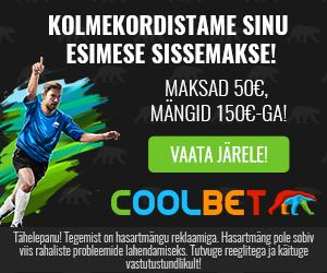 Coolbet Jalgpalli MM 2018 eripakkumine spordiennustuses