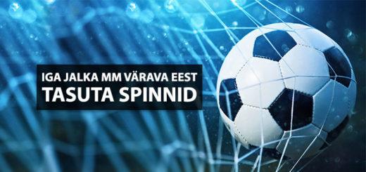 Coolbet Jalgpalli MM 2018 tasuta spinnid