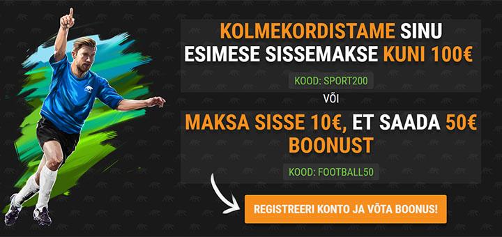 Coolbet spordiennustuses Jalka MM 2018 ajal suurendatud spordiboonused