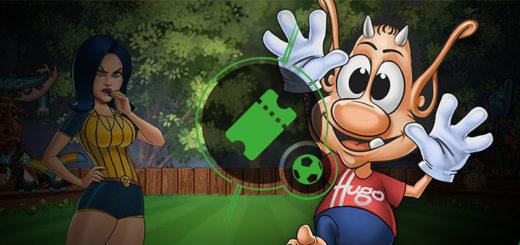Hugo Goal pärisraha tasuta spinnid ja €120 000 rahaloos