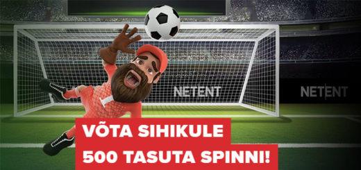 Jalgpalli MM penaltite boonusmäng Optibet kasiinos