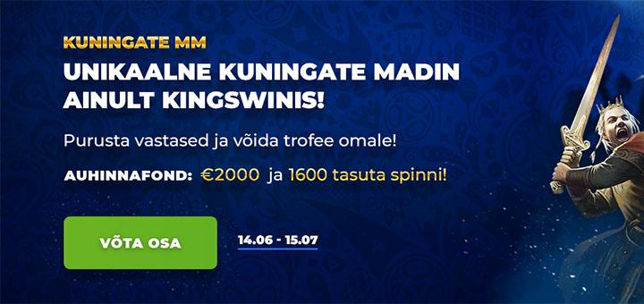 Kuningate MM Kingswin kasiinos