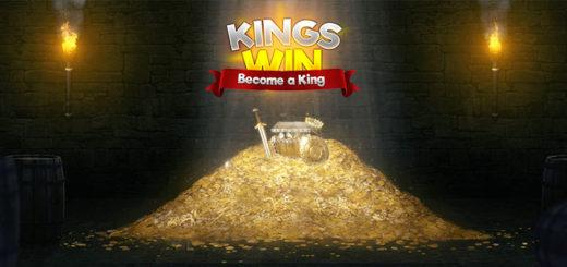 Kingswin kasiinos 50% kuni €50 reload boonus