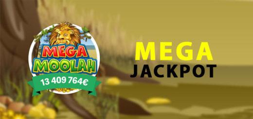 Mega Moolah Jackpoti suuruseks on üle 13 miljoni euro