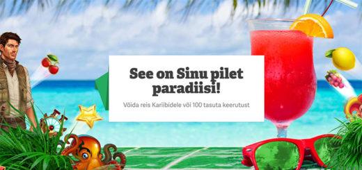 Paf kasiinoloos - Club Paf reisipaketid Kariibi mere saartele ja tasuta keerutused