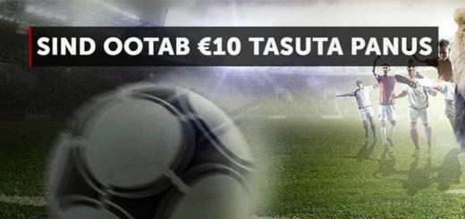 Premier League hooaja alguse puhul Betsafe's kõigile €10 tasuta panus