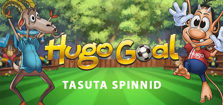 Taasiseseisvumispäeva puhul tasuta spinnid mängus Hugo Goal