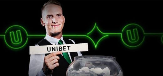 Unibet kasiino €20 000 rahaloos