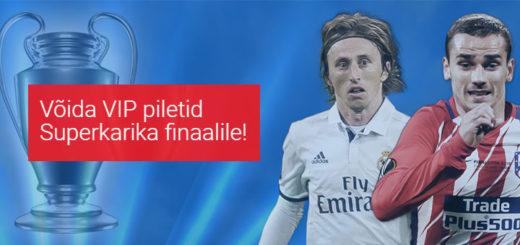 Võida tasuta VIP piletid UEFA Superkarika finaalile