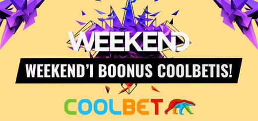 Weekend Festival 2018 spordiboonus Coolbetis