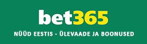 Bet365 kasiino ja spordiennustus nüüd Eestis