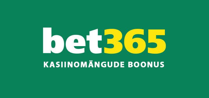 Bet365 - kasiino, vegas, mängud ja boonused