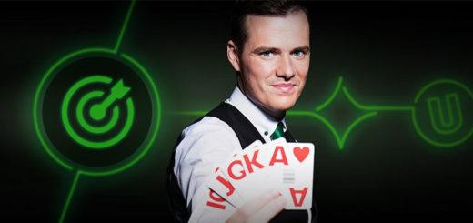 Blackjack väljakutse Unibet live kasiinos