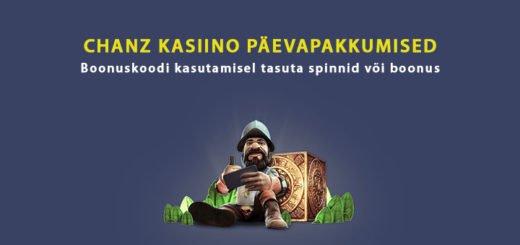 Chanz kasiino päevapakkumised - tasuta spinnid ja boonused