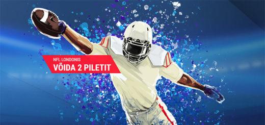 NFL Londonis - panusta Coolbet'is ja võida 2 piletit NFL mängule