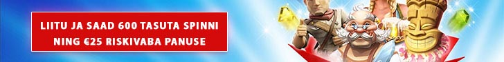 OlyBet kasiino boonus - liitumisel tasuta spinnid ja riskivaba panus