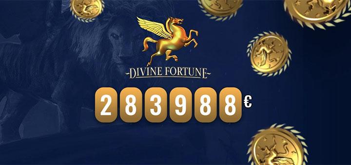 Optibet Eesti mängija võitis läbi aegade suurima jackpoti mängus Divine Fortune